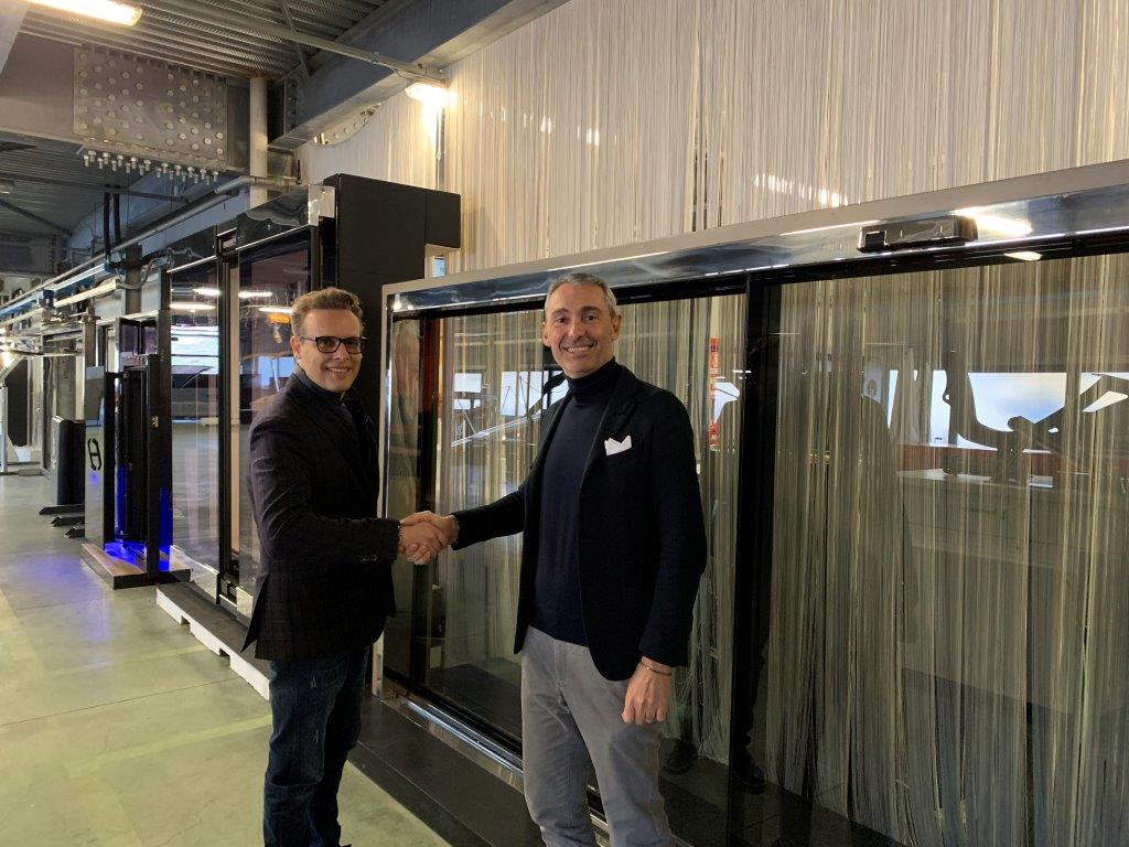 BESENZONI STRENGHTEN THE PARTNERSHIP WITH BRITISH TIMAGE