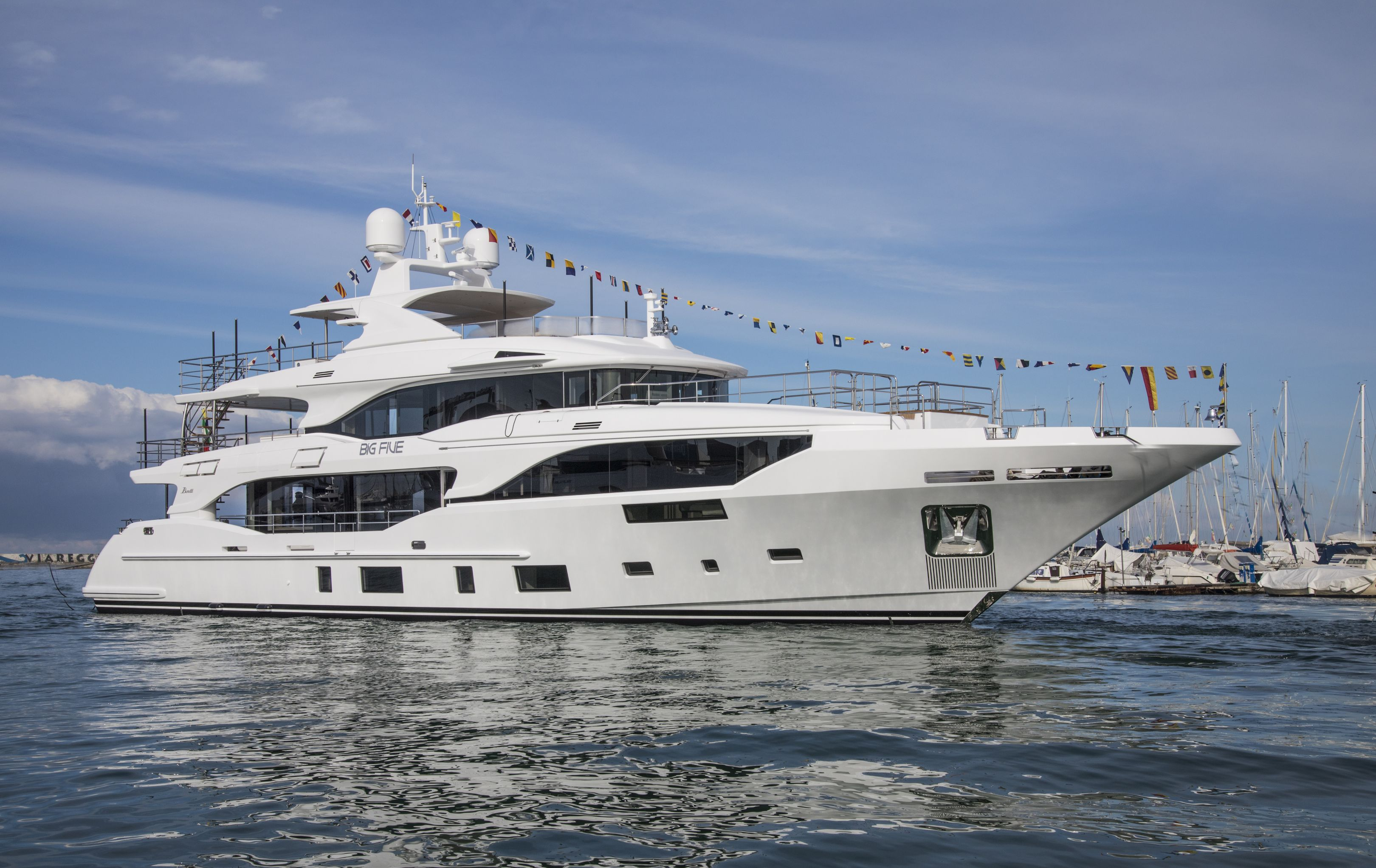 BENETTI LAUNCHES 3 YACHTS IN THE CLASS CATEGORY