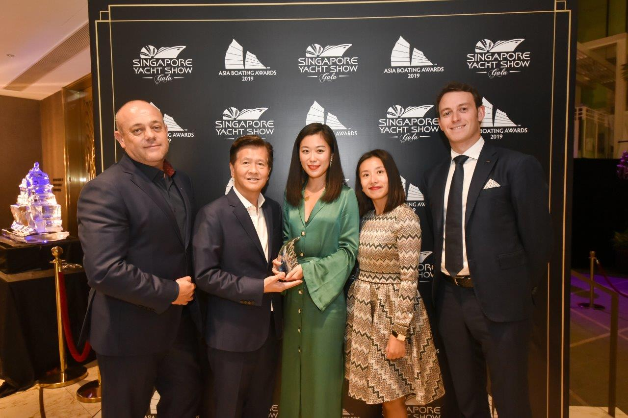 "AZIMUT YACHTS: ""BEST BRAND PRESENCE IN ASIA"""