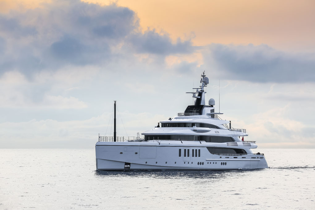 Benetti delivers M/Y Metis, a 63-meter custom yacht with innovative interiors and elaborated design